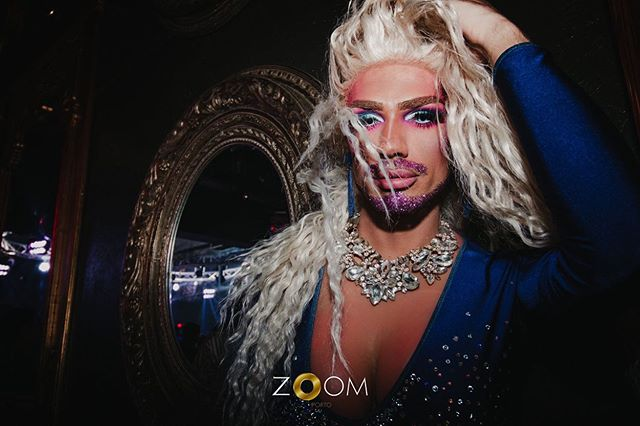 Drag queen at Zoom Porto, Portugal
