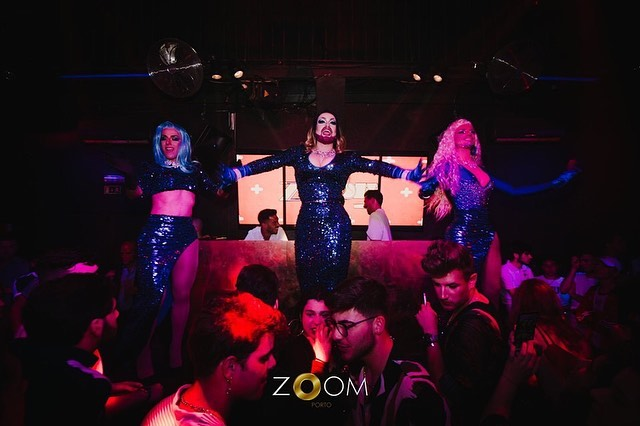 Drag show at Zoom Porto, Portugal