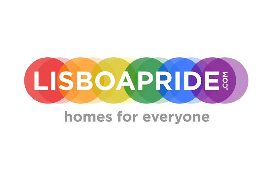 Logo for Lisboa Pride - Homes for Everyone
