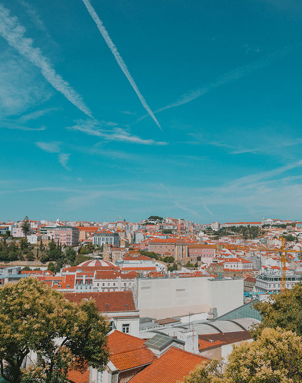 City view of Lisbon, Portugal