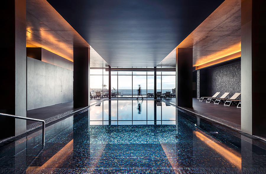 Indoor pool at Savoy Saccharum, Madeira