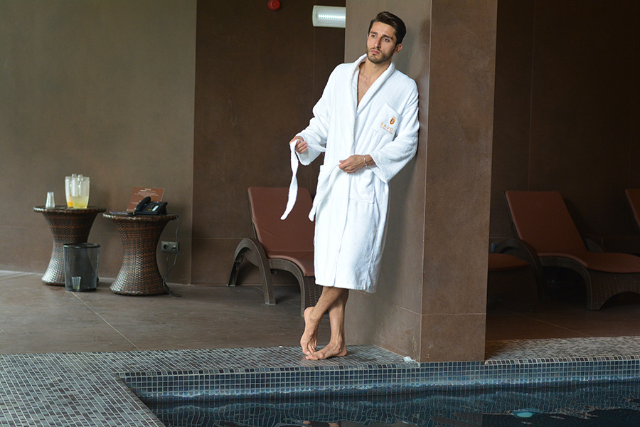 Man in Spa at Savoy Saccharum, Madeira
